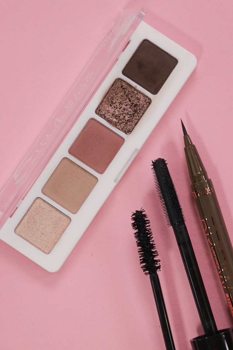 CATRICE 5 IN A BOX MINI EYESHADOW PALETTE 020 Soft Rose Look