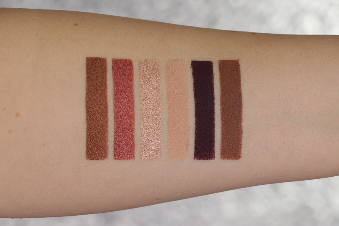 Fenty Beauty Snap Shadow Wine Swatches