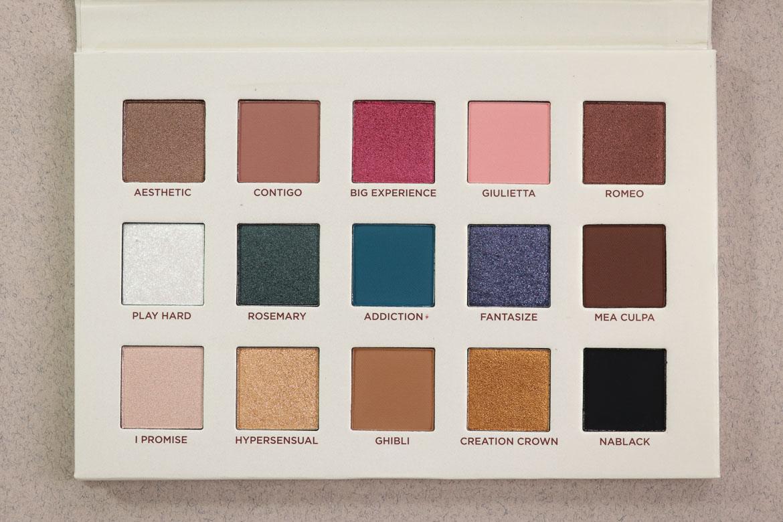 Nabla Cosmetics Review Secret Palette