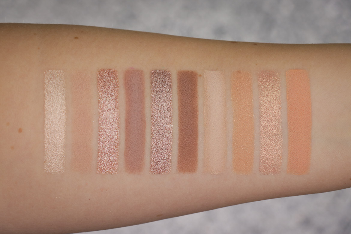 Colourpop Bare Necessities Swatches