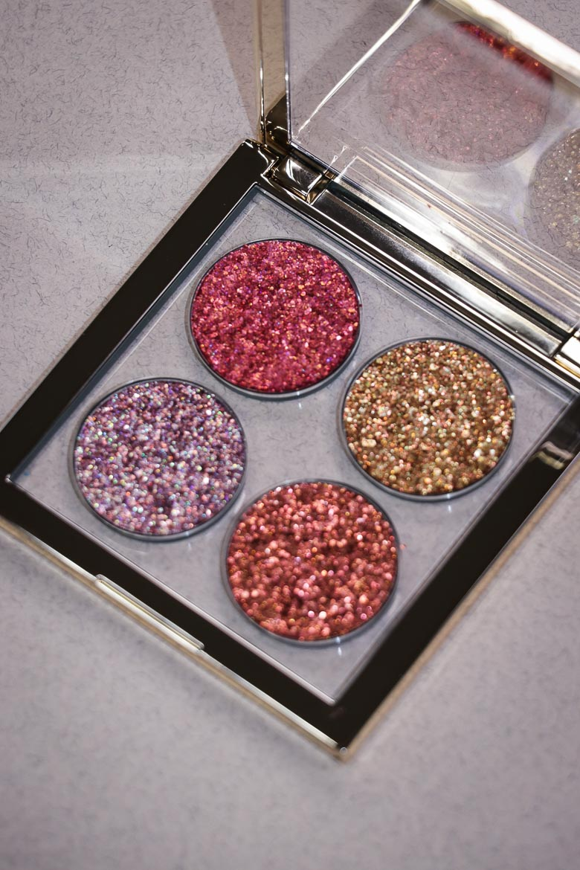 NABLA Ruby Lights Glitter Palette