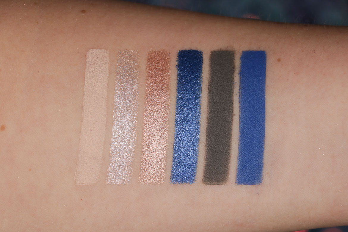 Rouge Bunny Rouge Enchanted Forest The Blue Star-sprinkled Night swatches