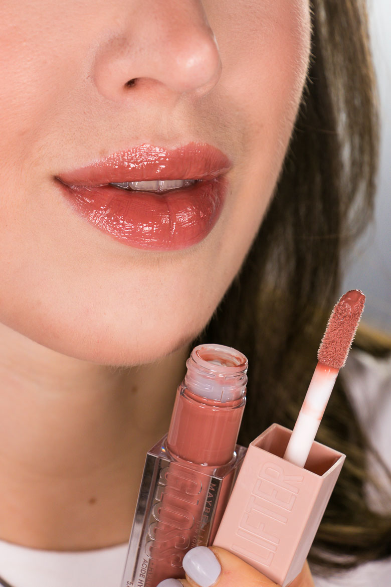 Maybelline Lifter Gloss Swatch 008 Stone
