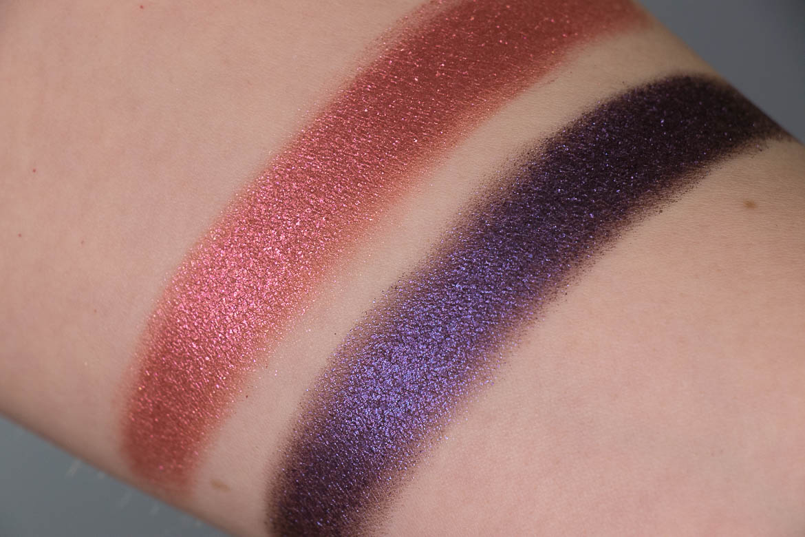 Lethal Cosmetics Covet Revolve Swatches