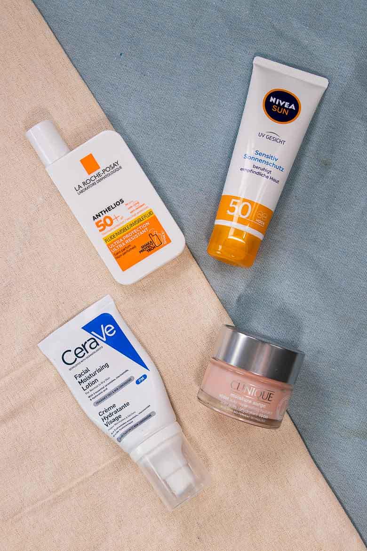 Hautpflege Routine Sommer 2021