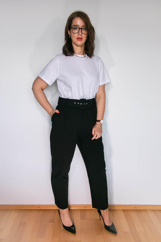Das perfekte weiße T-Shirt