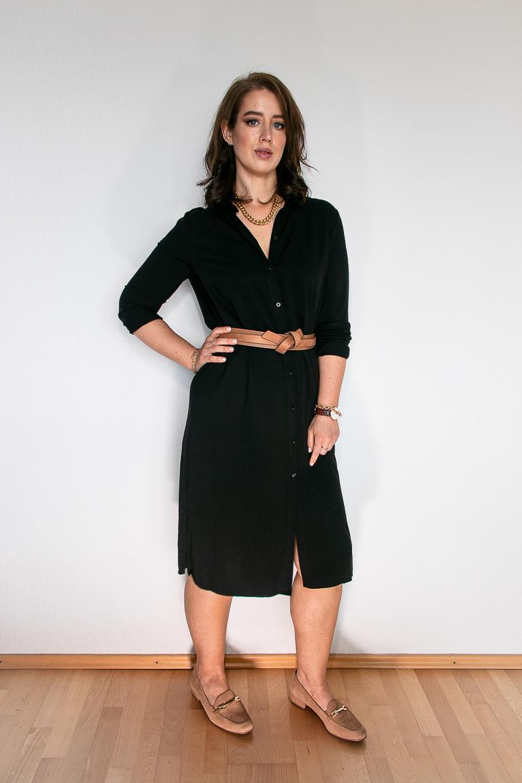 Nude & Schwarz: 5 Outfit Inspirationen