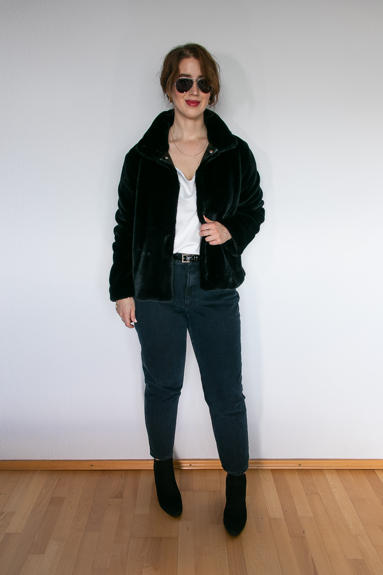 Mom Jeans Outfit Ideen